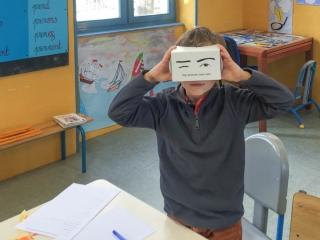 Les masques - première étape